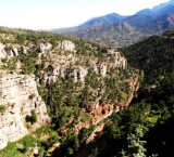 The Cave of the Winds is located in the Pikes Peak