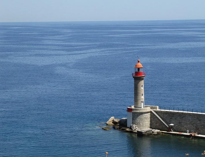 The lighthouse of Bastia
