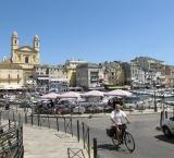 The marina of Bastia
