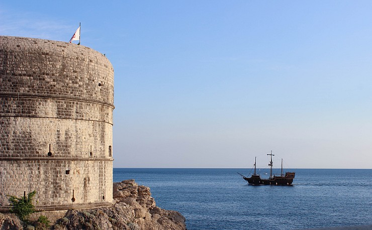 The Bokar fort at the intersection of old naval routes