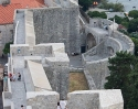 The majestic walls of Dubrovnik