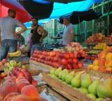 Abundance of fresh fruits