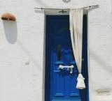 Greek doors are always aesthetics. Paros
