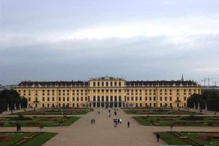 The Famous Schonbrunn Palace Vienna