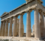 The Parthenon is the most popular part of the Acropolis