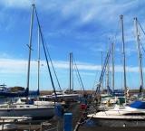 Boats in the Cretan port