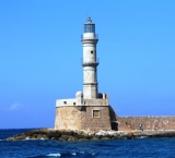 One of the old towers of Crete