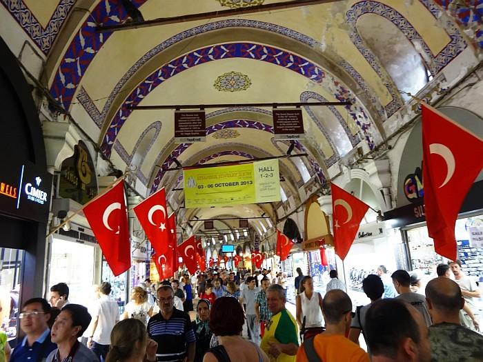 Go shopping at the Grand Bazaar