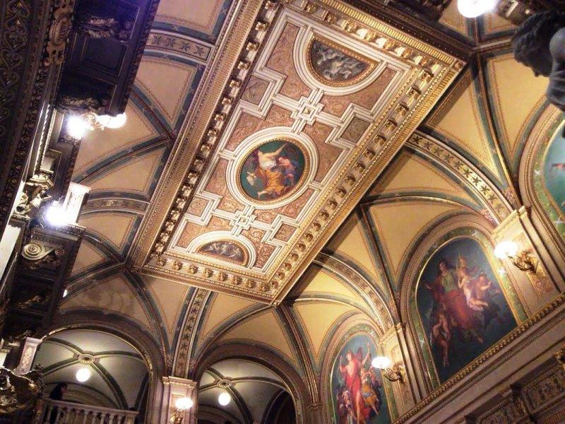 Inside the Viennese Opera