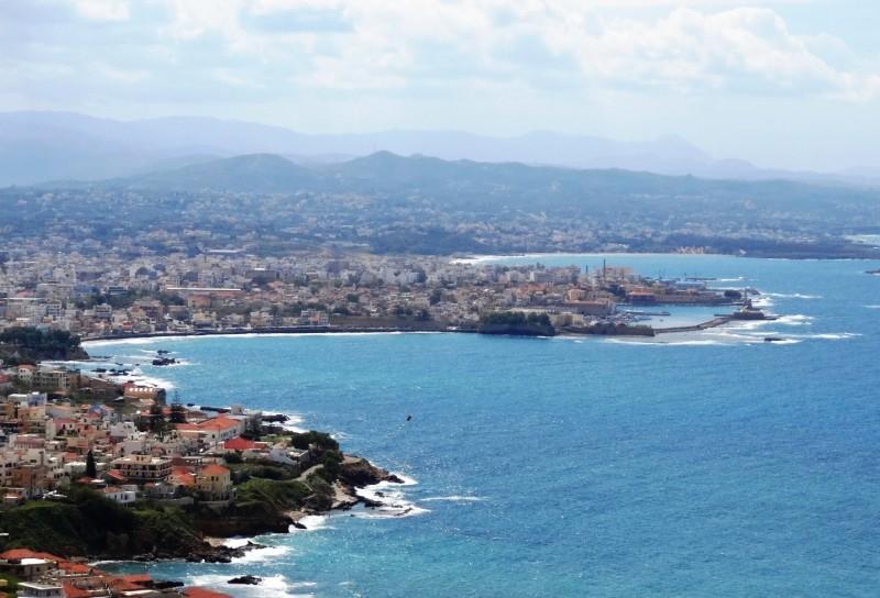 Arriving in Chania, Crete