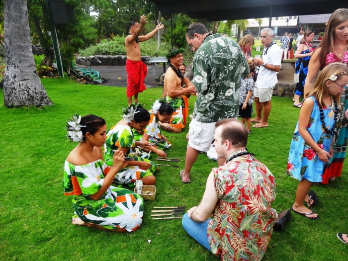 Experiencing the Hawaiian culture