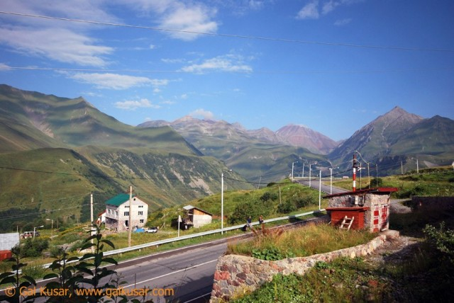 Gudauri, winter sports resort