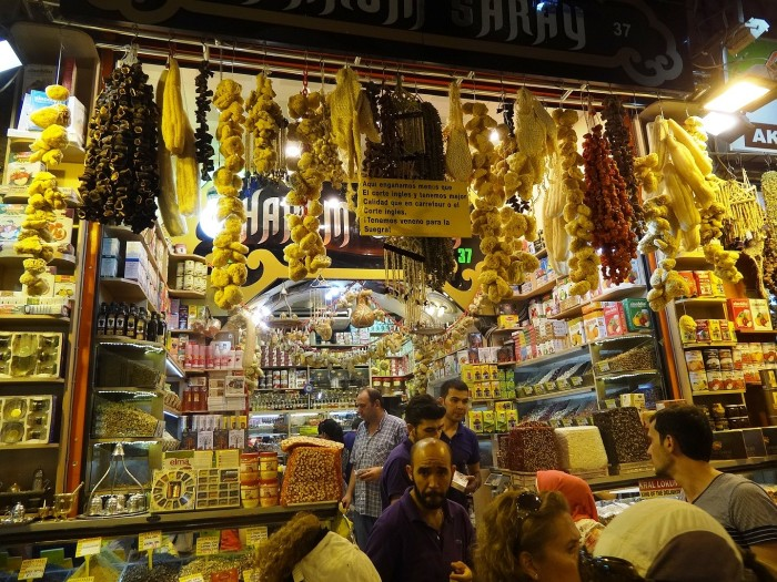 Do not miss the Spice Bazaar