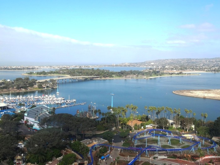 Sea World San Diego from above