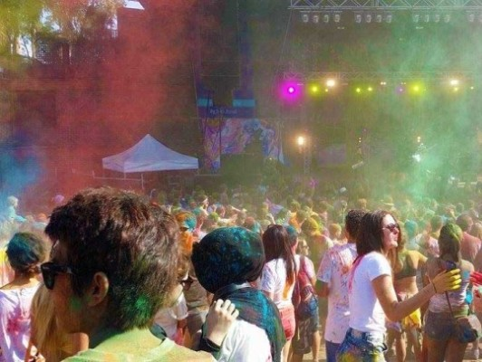 "SpringFlare – ""Australia's Biggest Colour Festival"""