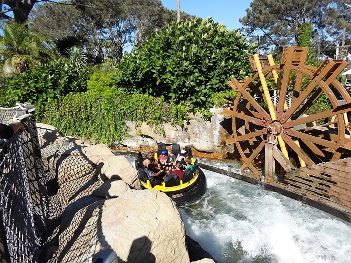 The River Rapids at Sea World San Diego