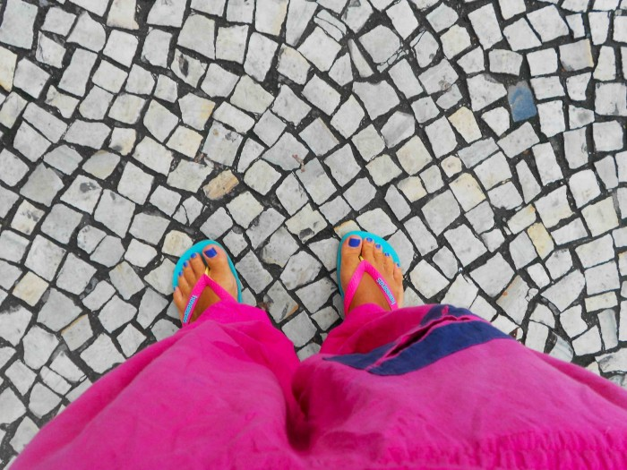 Famous brazilian flip flops Havaianas are known all over the world