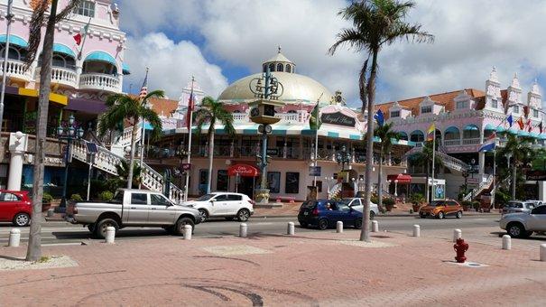 Oranjestad shopping mall