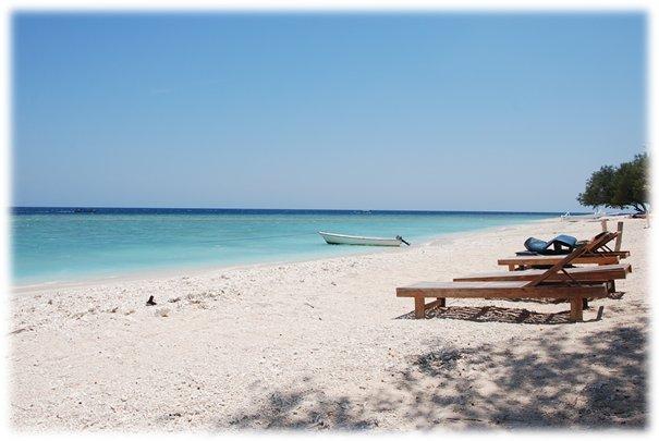 White beaches Bali