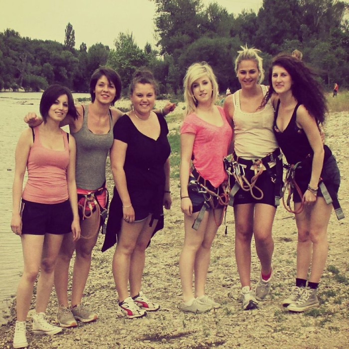 You can spend wonderful time with your friends in Ardèche