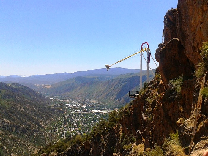 Glenwood Springs Colorado and the Giant Swing
