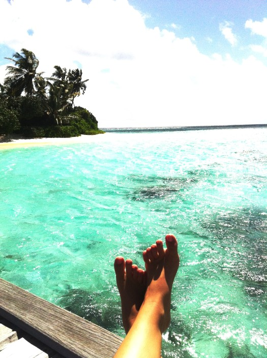 Maldives – A Paradise for those who love going barefoot.