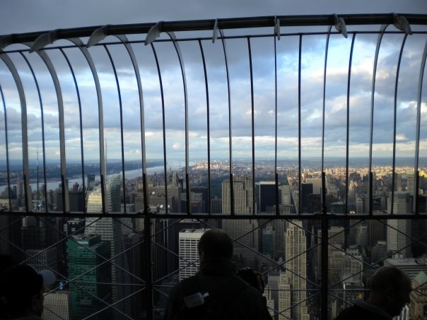 Observation deck on the Empire State Building