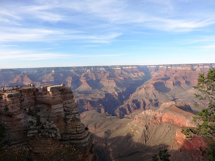 One of the best viewpoints of the Grand Canyon National Park