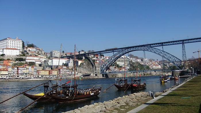 Ribeira and Dom Luís bridge