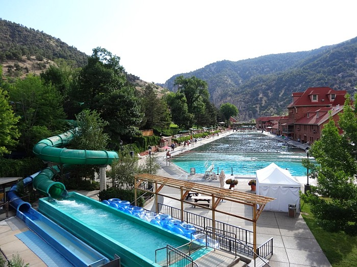 The Glenwood Hot Springs Pool is the largest in the United States