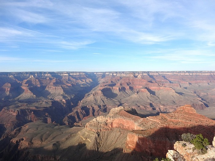 The Grand Canyon National Park is huge