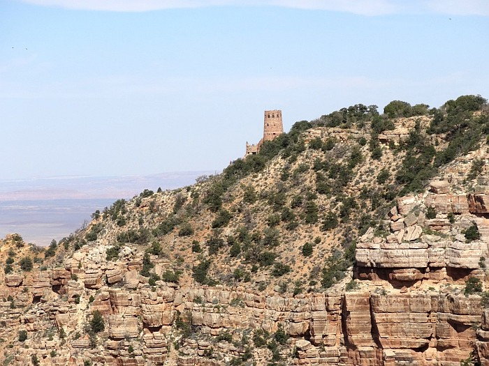 The Watchtower of the Grand Canyon National Park