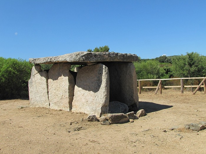 The dolmen of Fontanaccia