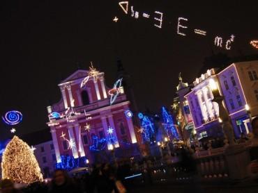 Christmas decorations of Ljubljana
