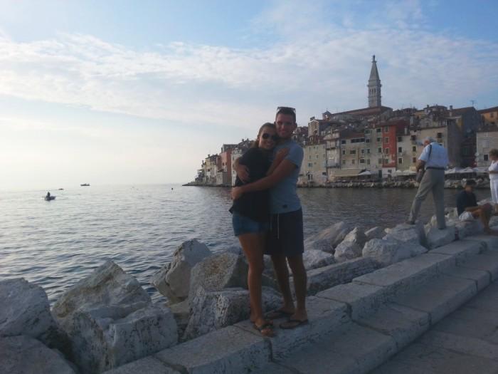 Romantic time in Rovinj