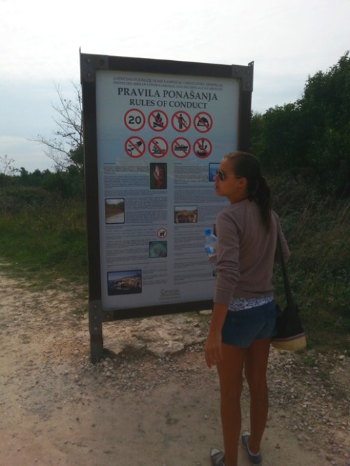 Some interesting things before entering the natural reserve