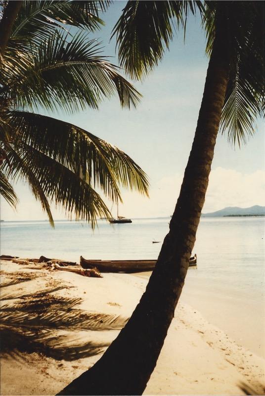 Black Angel at Isla Gunboat, San Blas Islands