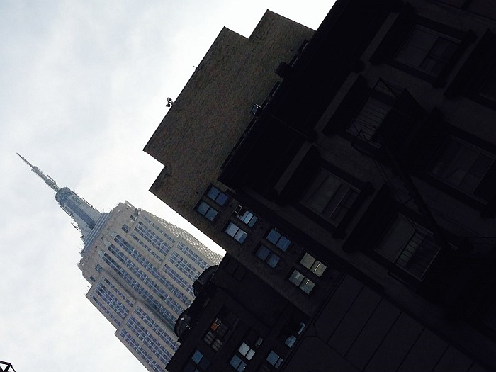 View of the ESB from below