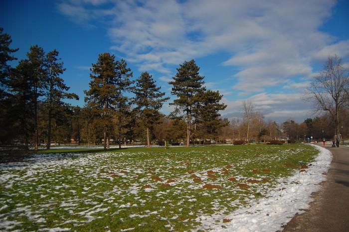 Tivoli Park impresses even on a sub zero winter morning.