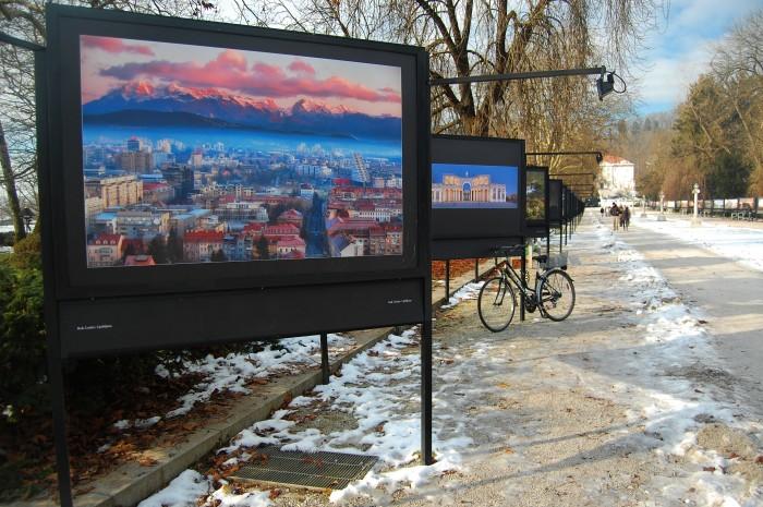 Outdoor photographic exhibition at Tivoli Park