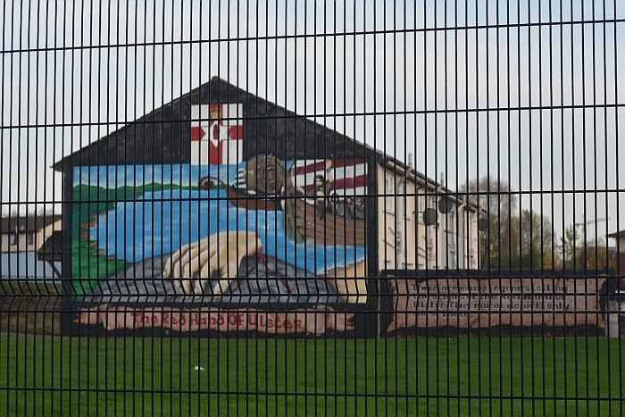 Belfast - mural