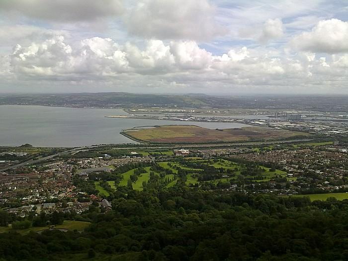 Belfast - panoramic view