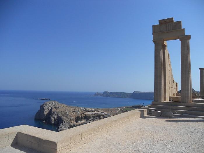 Beautiful island of Rhodes