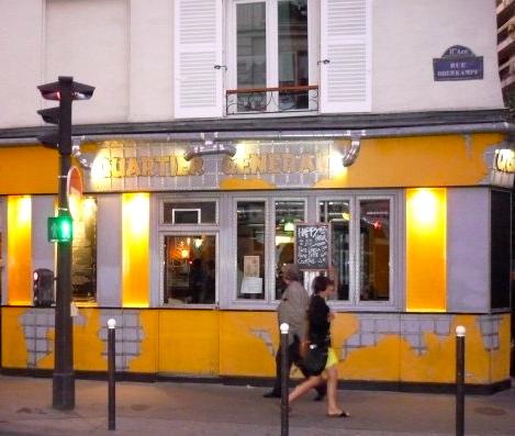 Bar, Quartier Général