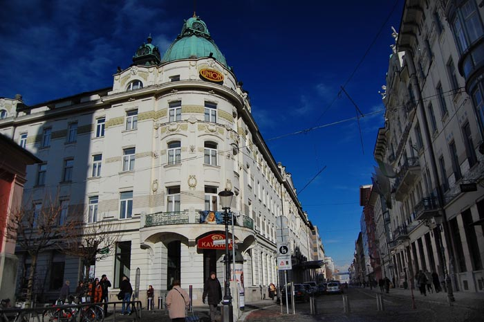 Grand Hotel Union is one of the most well known Ljubljana hotels.