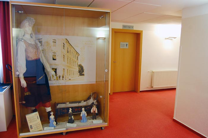 1st floor exhibit of the Slovenian national costume