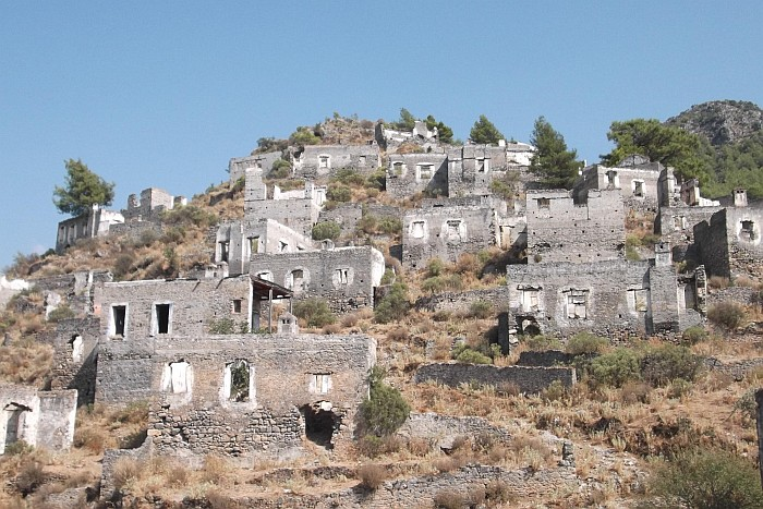 Abandoned city, Kayaköy