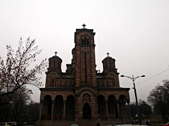 St Mark's Church (Crkva Svetog Marka) at Tašmajdan Park