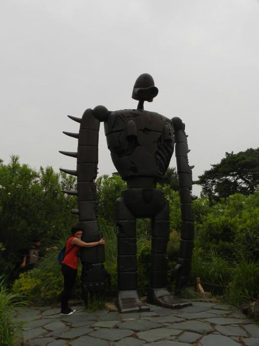 Kyoshin-Hei of Castle in Sky ( Hayao Miyazaki movie) at Ghibli Museum in Mitaka, Tokyo