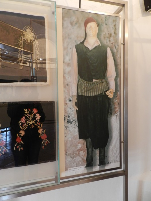 Local dress of men, in the museum of the former mosque